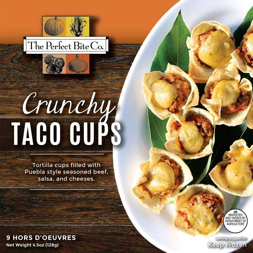 The Perfect Bite Company Crunchy Taco Cups