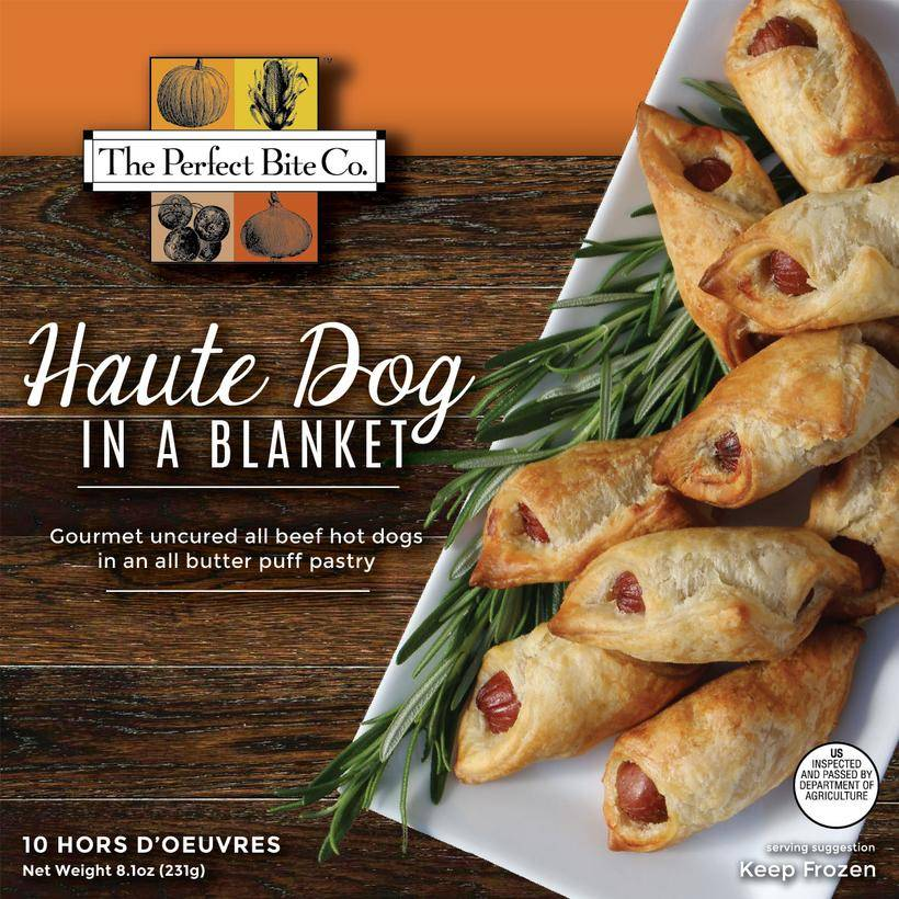 The Perfect Bite Company Haute Dog in a Blanket