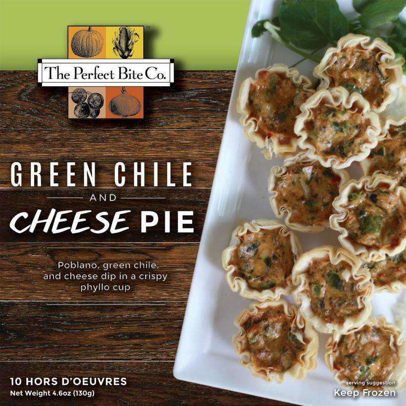 The Perfect Bite Company Green Chile & Cheese Pie