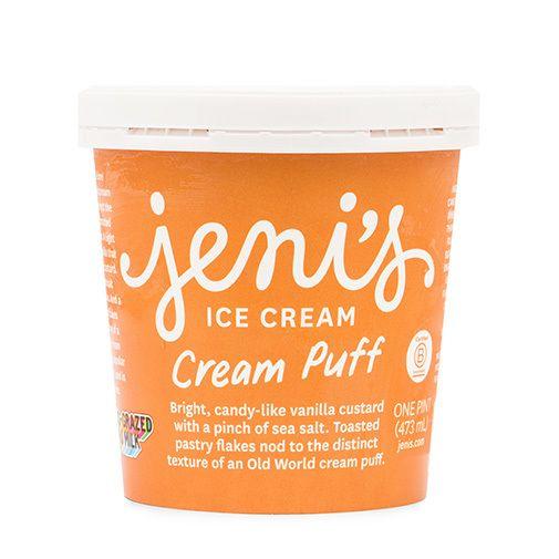 Jeni's Cream Puff Ice Cream Pint