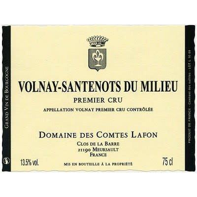 Domaine des Comtes Lafon 2014 Volnay Santenots du Milieu Premier Cru, Burgundy