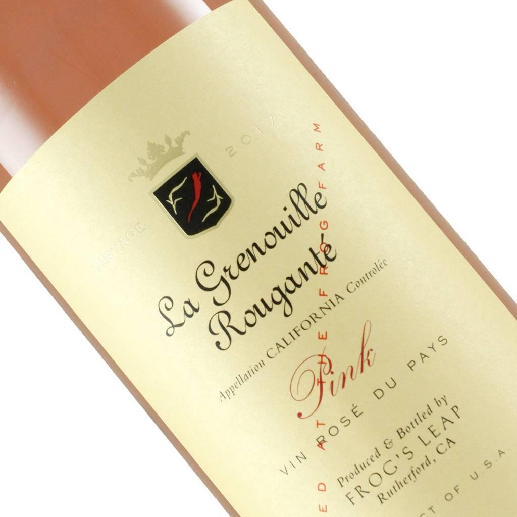 Frogs Leap 2017 La Grenouille Rougante Pink California The Wine