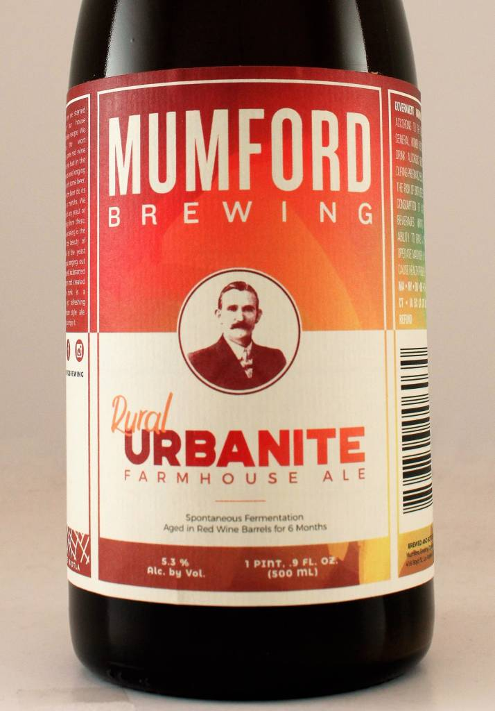 "Mumford ""Rural Urbanite"" Farmhouse Ale"