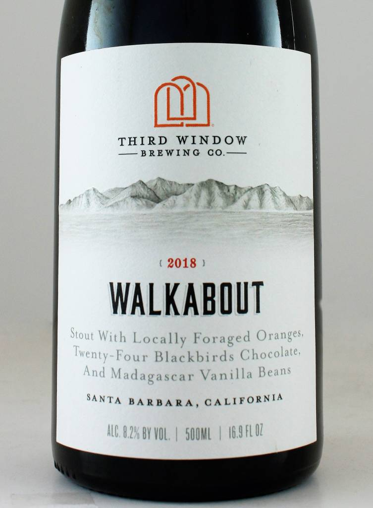 """Third Window Brewing """"Walkabout"""" Stout"""