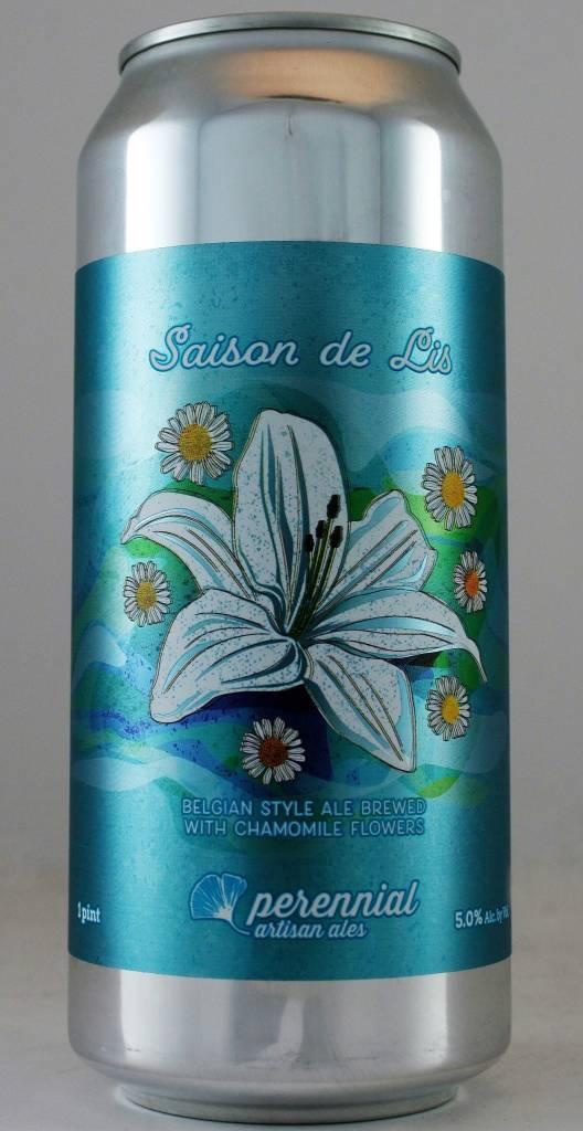 """Perennial Artisan Ales """"Saison de Lis"""" - 16oz can"""
