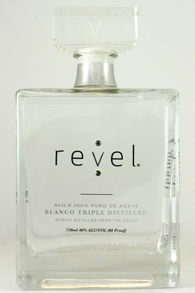 Revel Avila 100% Puro de Agave Blanco, Triple Distilled, Morelos, Mexico