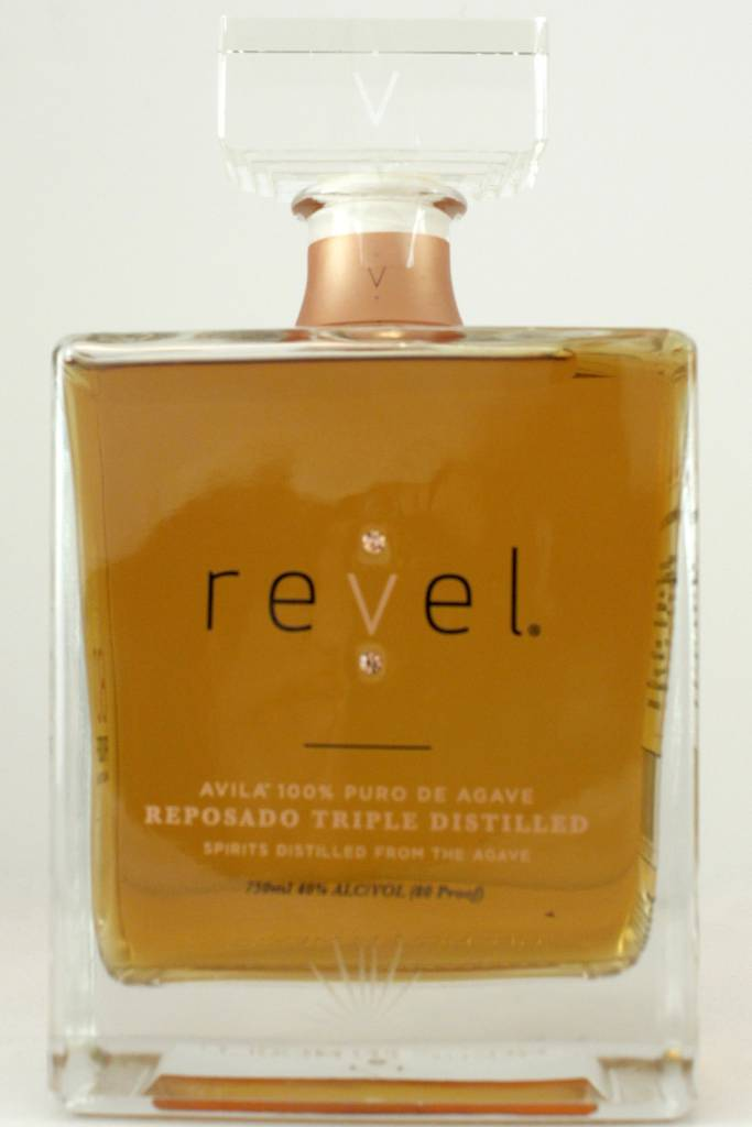 Revel Avila 100% Puro de Agave Reposado, Triple Distilled, Morelos, Mexico