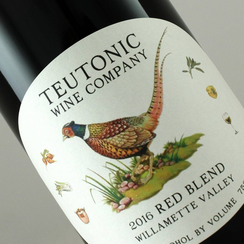 Teutonic 2016 Red Blend, Willamette Valley