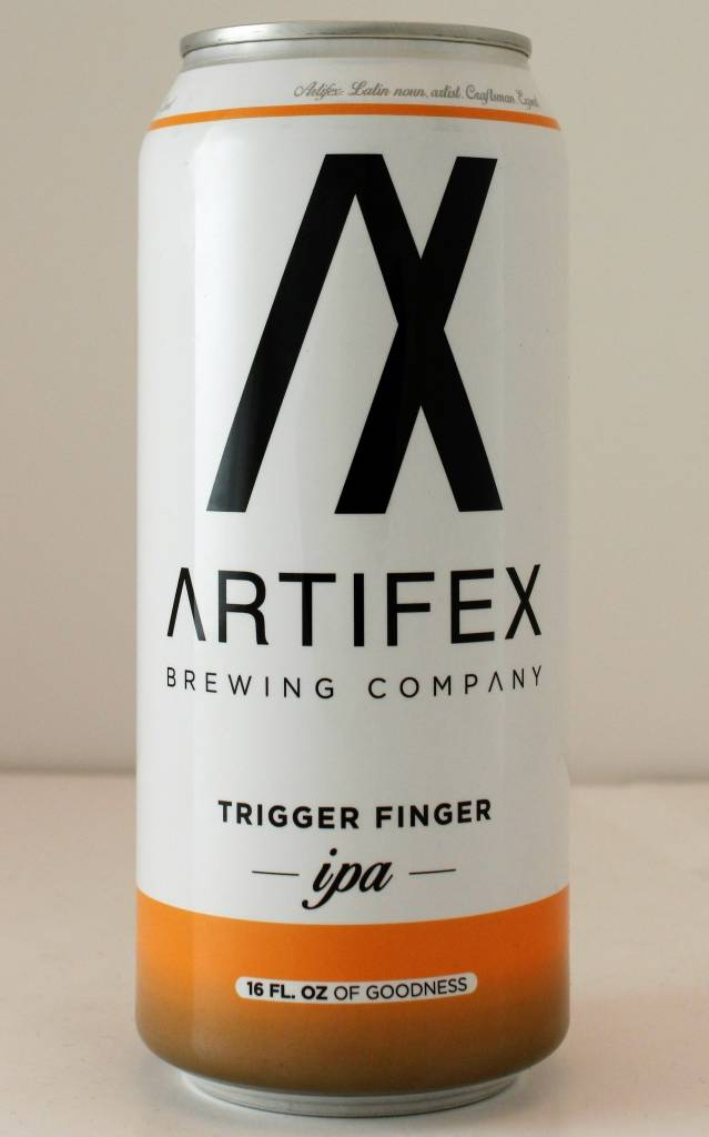 "Artifex Brewing ""Trigger Finger"" IPA, California - 16oz can"