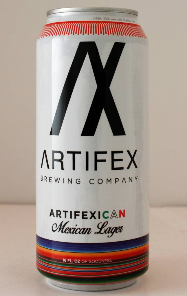 "Artifex Brewing ""Artifexican"" Mexican Lager, California - 16oz can"