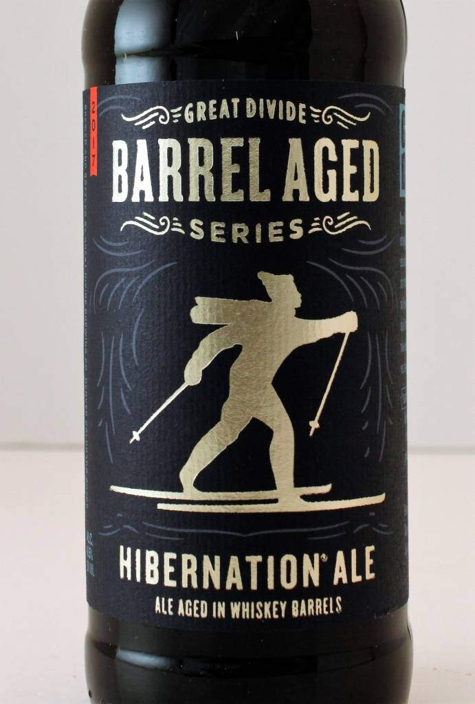 "Great Divide Brewing ""Hibernation Ale"" Ale Aged in Whiskey Barrels, Colorado"