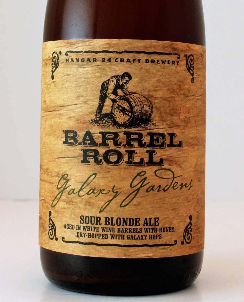 "Hangar 24 Brewery ""Barrel Roll: Galaxy Gardens"" Dry-Hopped Sour Blonde, California"