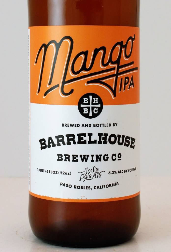 "BarrelHouse Brewing ""Mango India Pale Ale"", California"