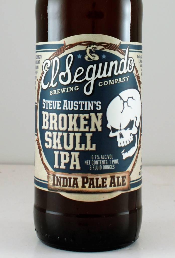"""El Segundo Brewing """"Broken Skull"""" IPA"""