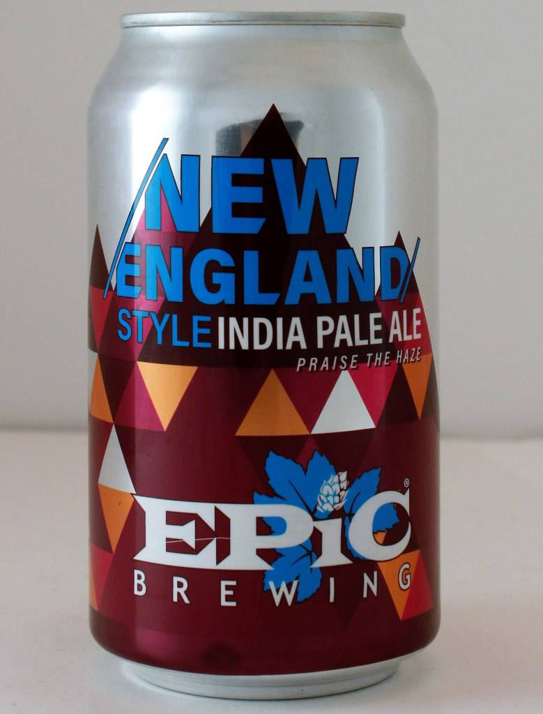 """Epic Brewing """"New England IPA: Pulp Added"""" - 12oz can"""