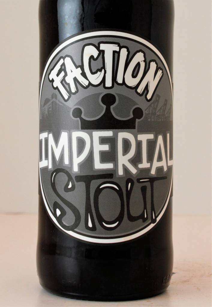 "Faction Brewing ""Imperial Stout"", California"