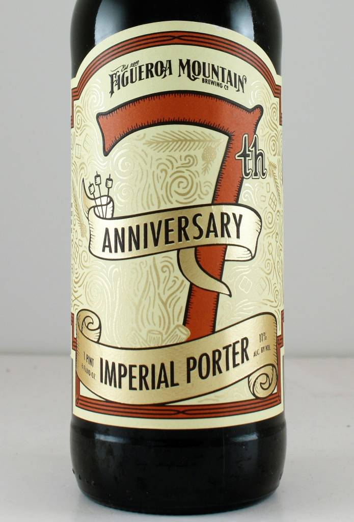 """Figueroa Mountain Brewing """"7th Anniversary"""" Imperial Porter"""