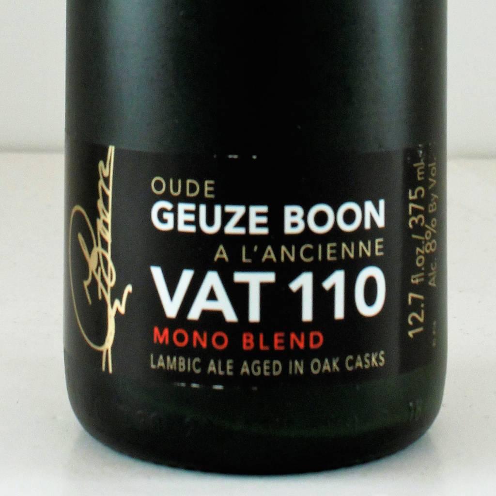 """Boon Vat Geuze """"Vat 110"""", Belgium - 375ml"""