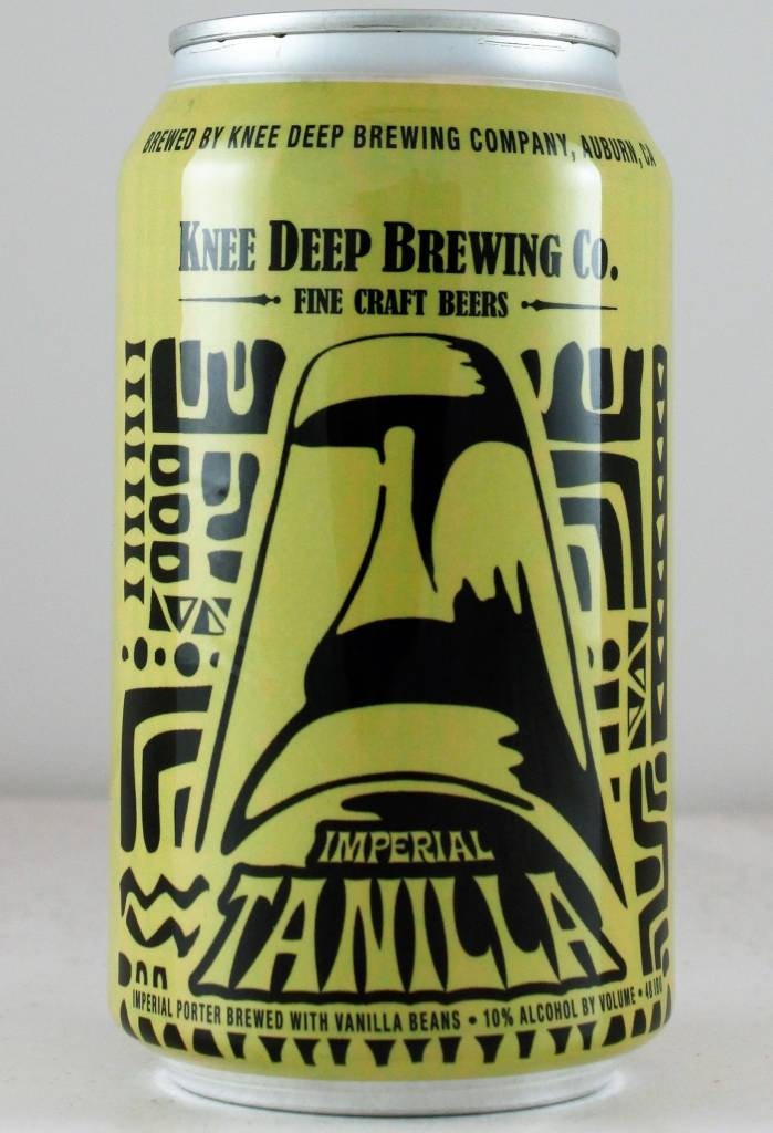 "Knee Deep Brewing ""Imperial Tanilla Porter"" - 12oz can"