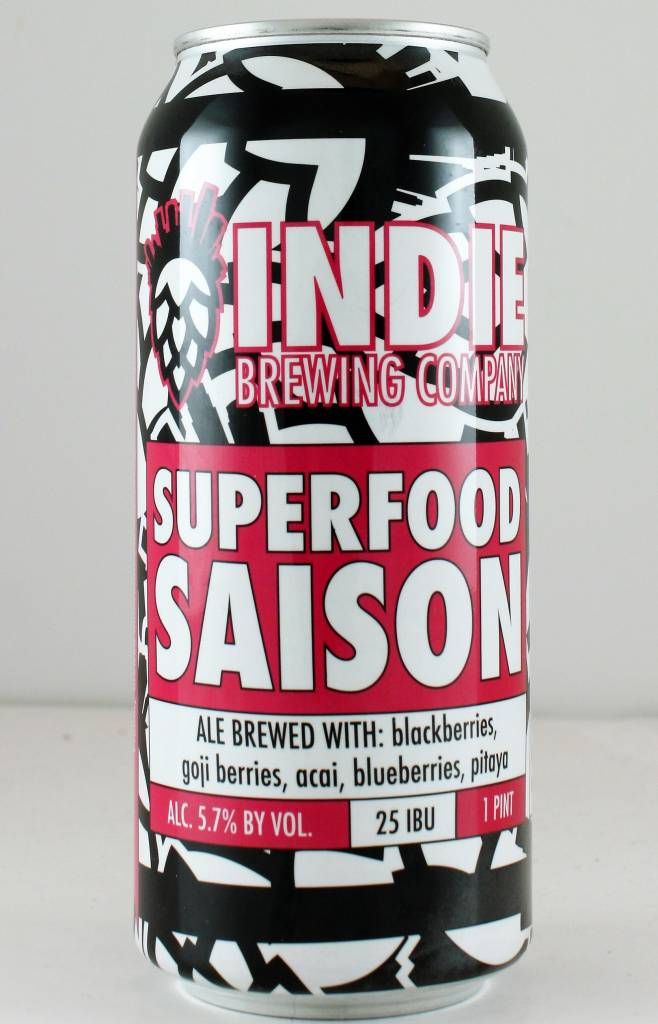 """Indie Brewing """"Superfood Saison"""" - 16oz can"""