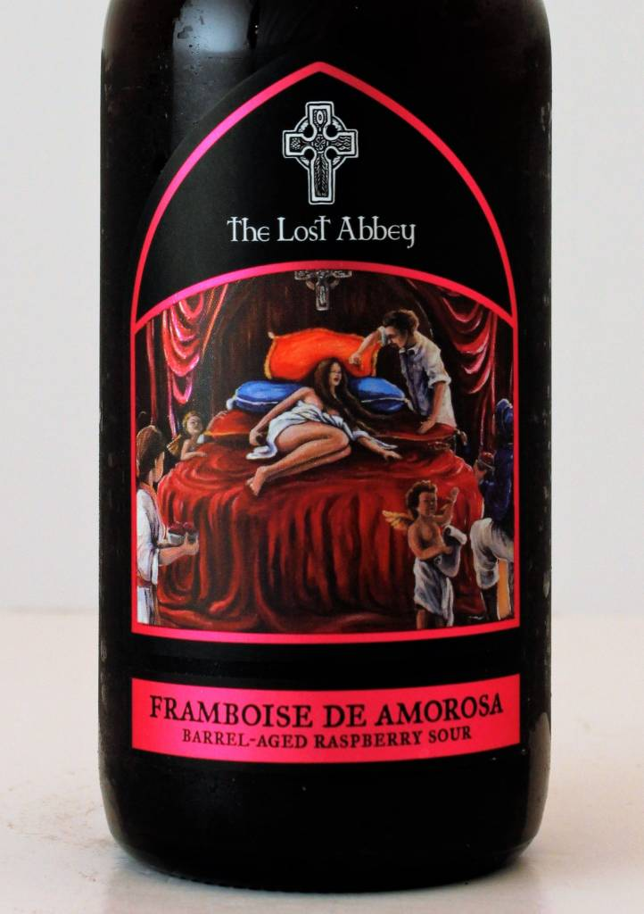 "Lost Abbey ""Framboise De Amorosa"" BA Raspberry Sour, California - 375ml"