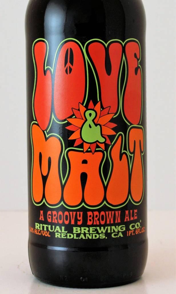 "Ritual Brewing ""Love & Malt"" Brown, California"
