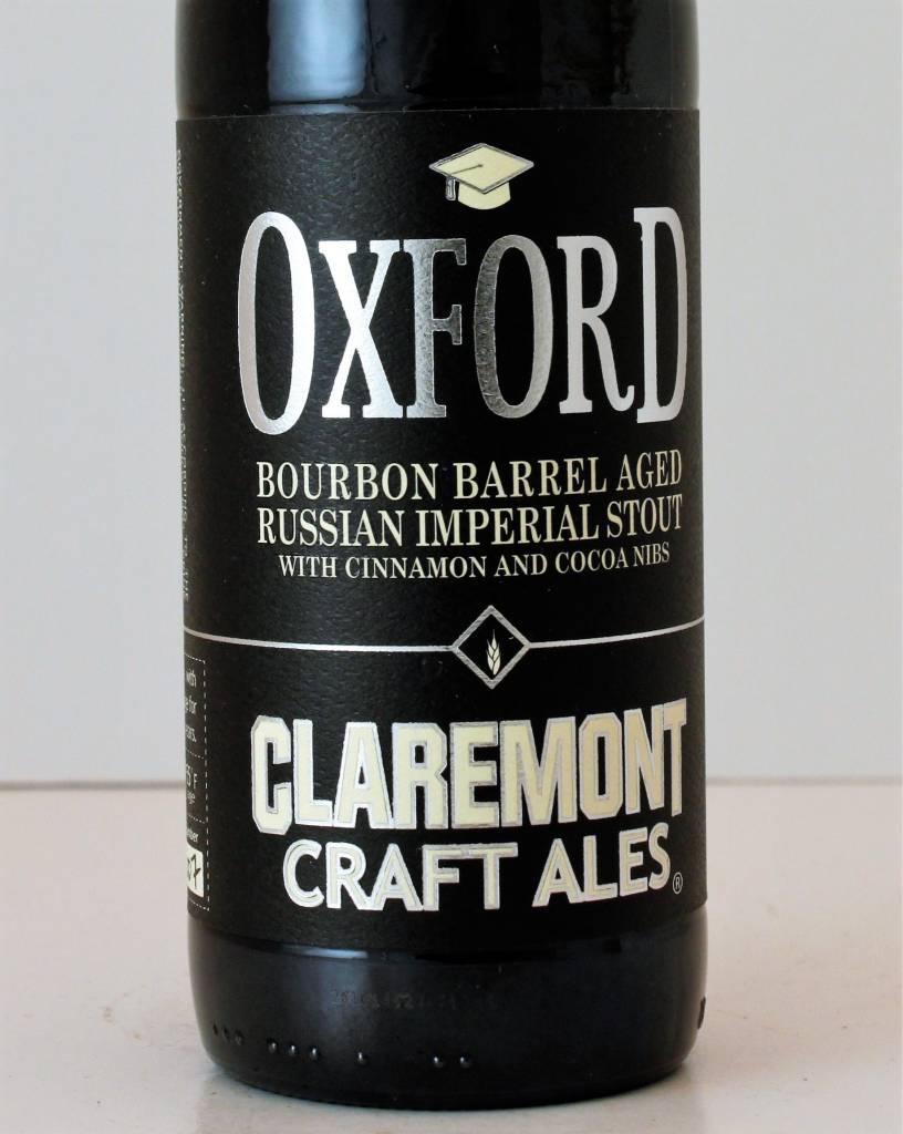 """Claremont """"Oxford"""" Russian Imperial Stout"""