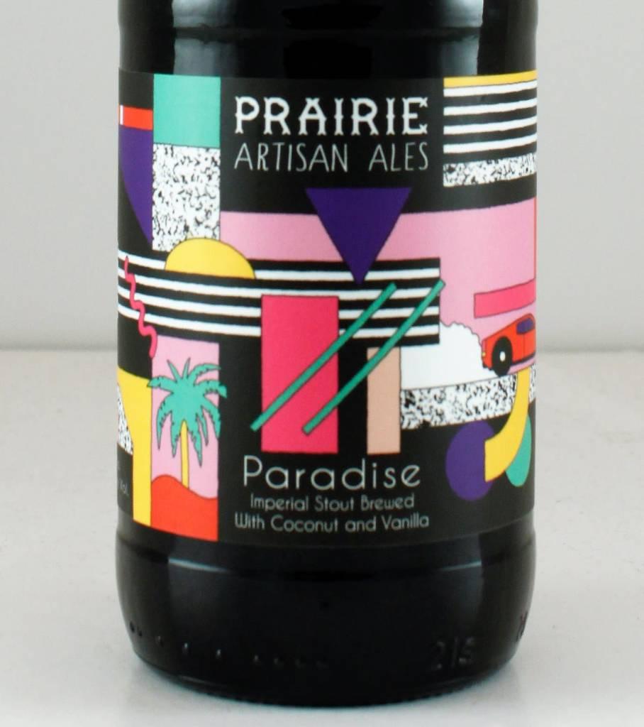 """Prairie Artisan Ales """"Paradise"""" Imperial Stout w/ Coconut and Vanilla, Oklahoma - 12oz"""