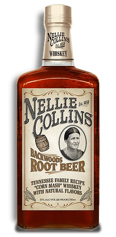Nellie Collins Backwoods Root Beer Whiskey
