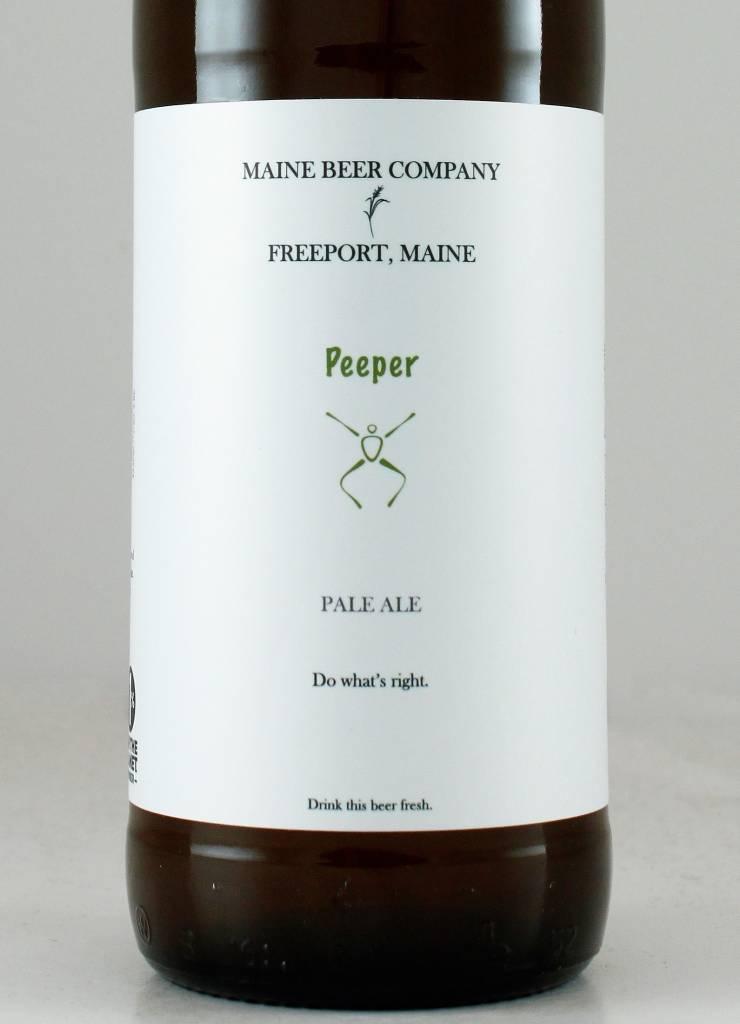"Maine Beer Co. ""Peeper"" Pale Ale"