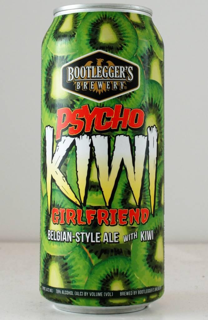 "Bootlegger's Brewery ""Psycho Kiwi Girlfriend"" - 16oz can"