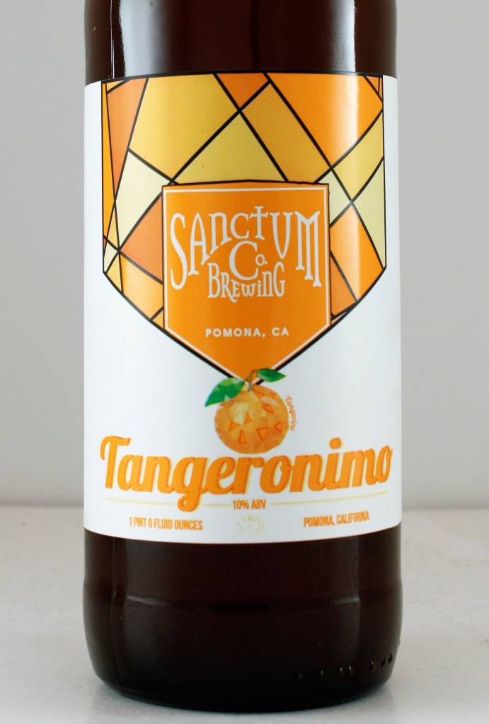 "Sanctum Brewing ""Tangeronimo"" Belgian Golden w/ Tangerines"