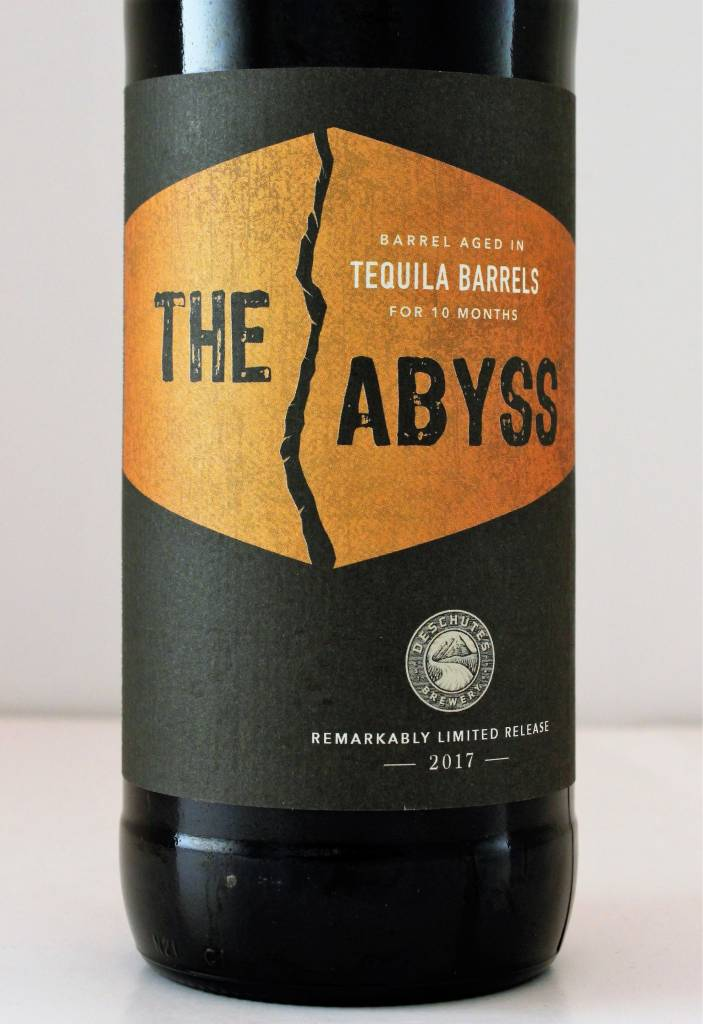 """Deschutes Brewing """"2017 The Abyss: Tequila"""" Stout, Oregon"""