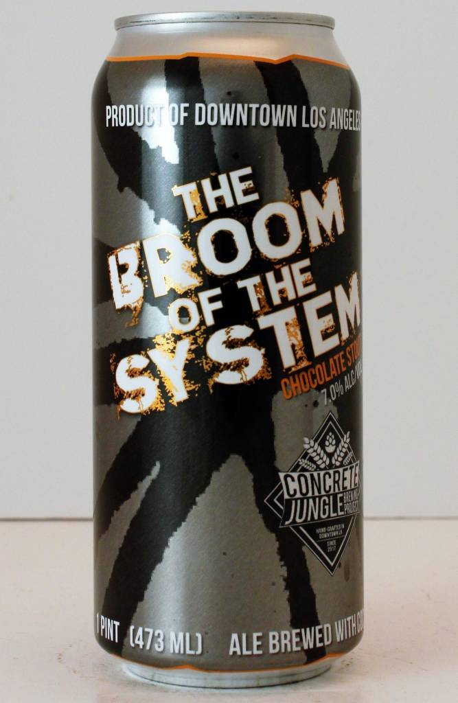 """Concrete Jungle """"The Broom of the System"""" Chocolate Stout"""