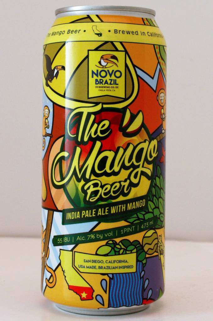 "Novo Brazil ""The Mango IPA"", California - 16oz can"