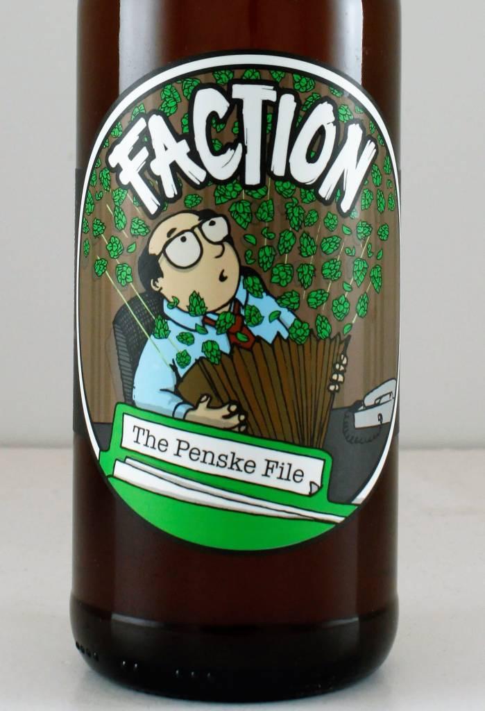 "Faction Brewing ""The Penske File"" IPA, California"