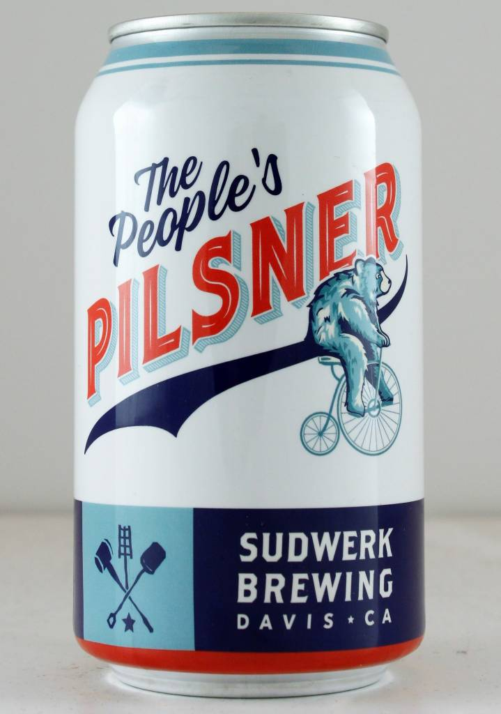 Sudwerk Brewing People's Pilsner - 12oz can