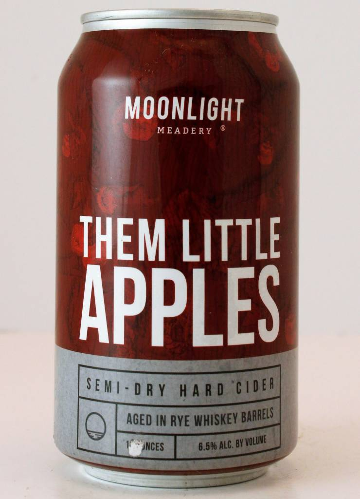 "Moonlight Meadery ""Them Little Apples"" Semi-Dry Hard Cider"