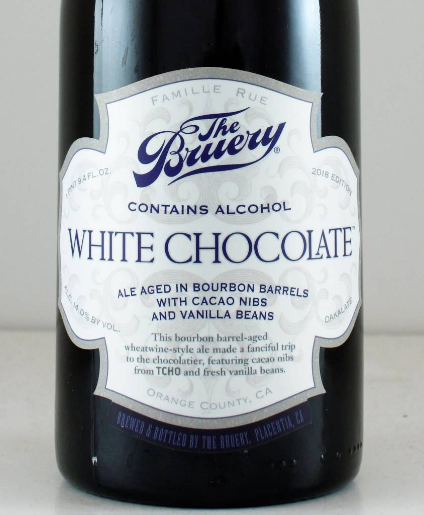 "The Bruery ""White Chocolate"" Wheatwine"