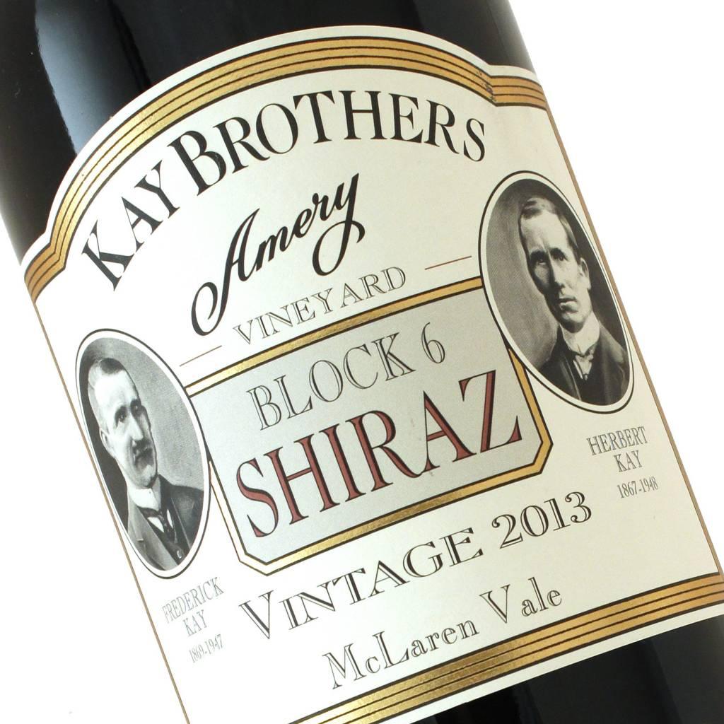 Kay Brothers 2013 Block 6 Shiraz, McLaren Vale