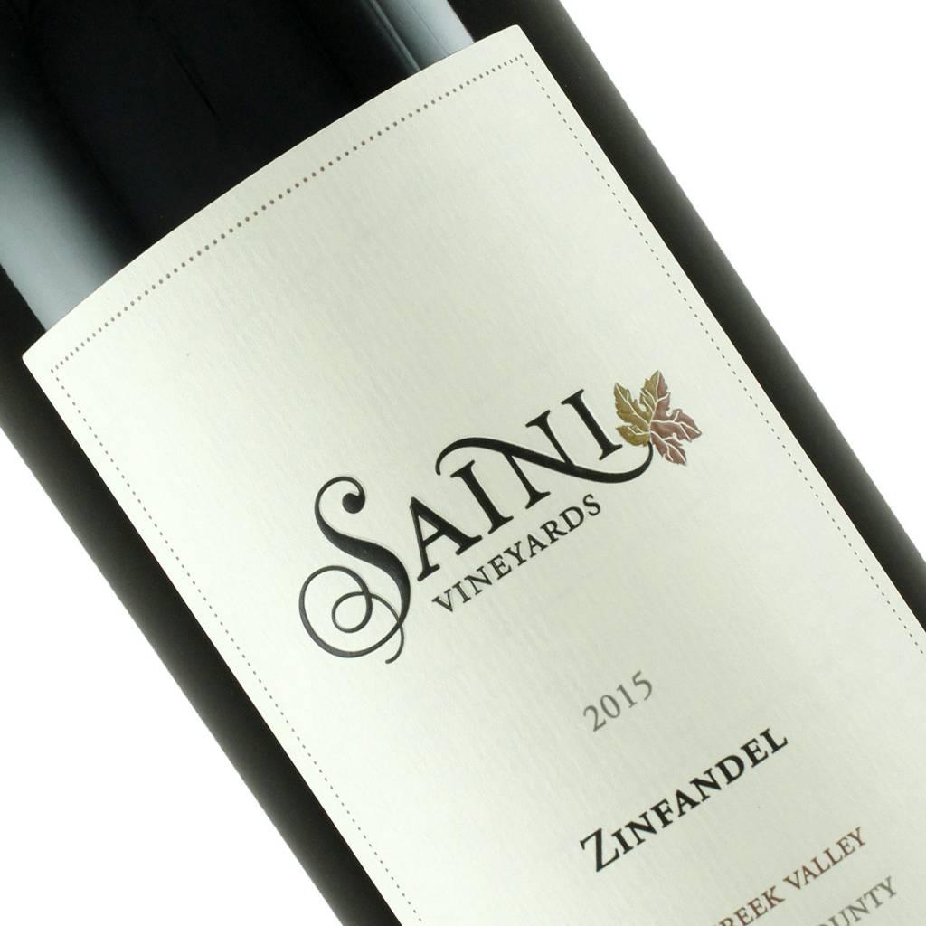 Saini Vineyards 2015 Zinfandel Dry Creek Valley, Sonoma County