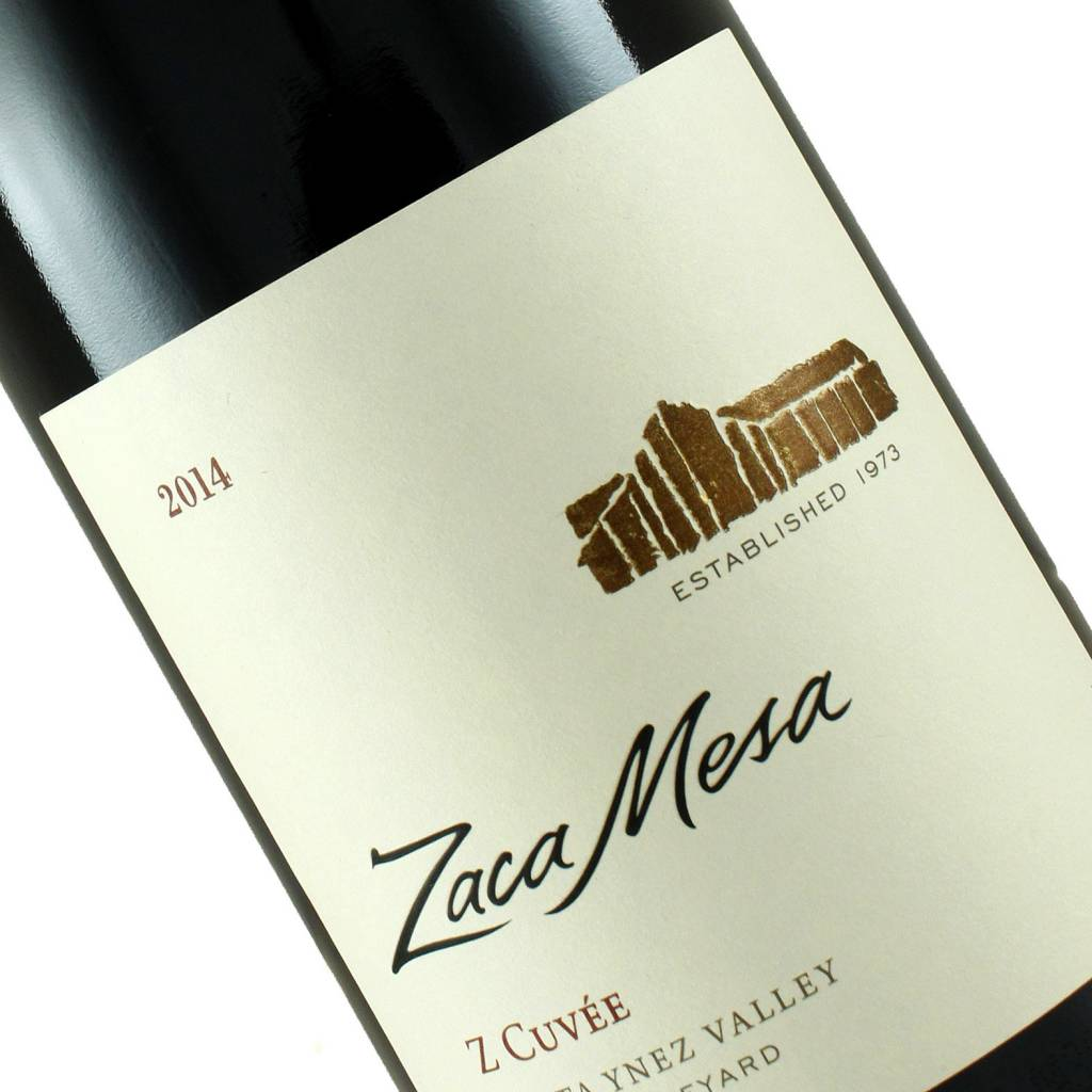 "Zaca Mesa 2014 ""Z Cuvee"" Red Blend, Santa Ynez Valley"