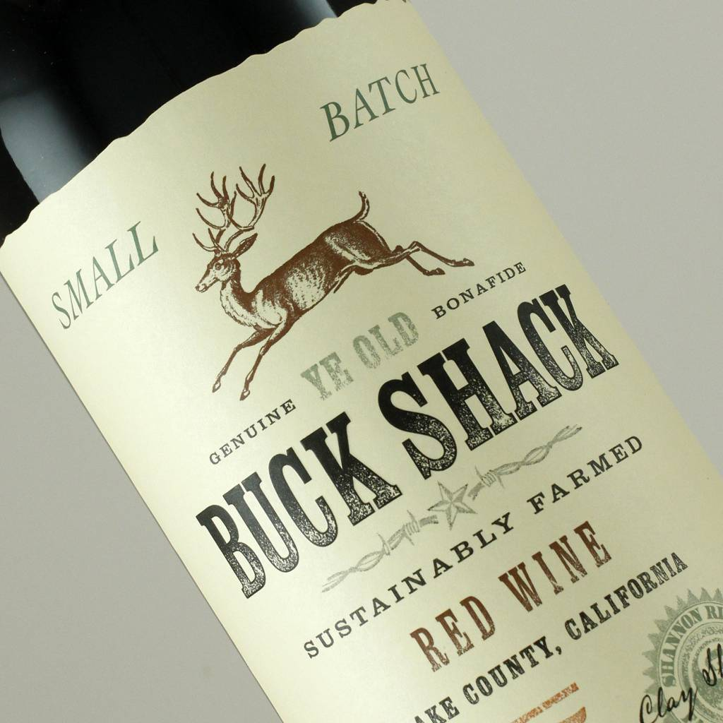 Buck Shack 2015 Red Wine, Lake County