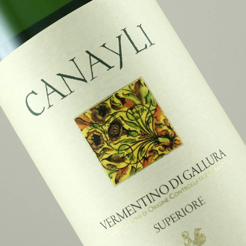 Cantina di Gallura 2016 Vermentino di Gallura Canayli, Sardinia