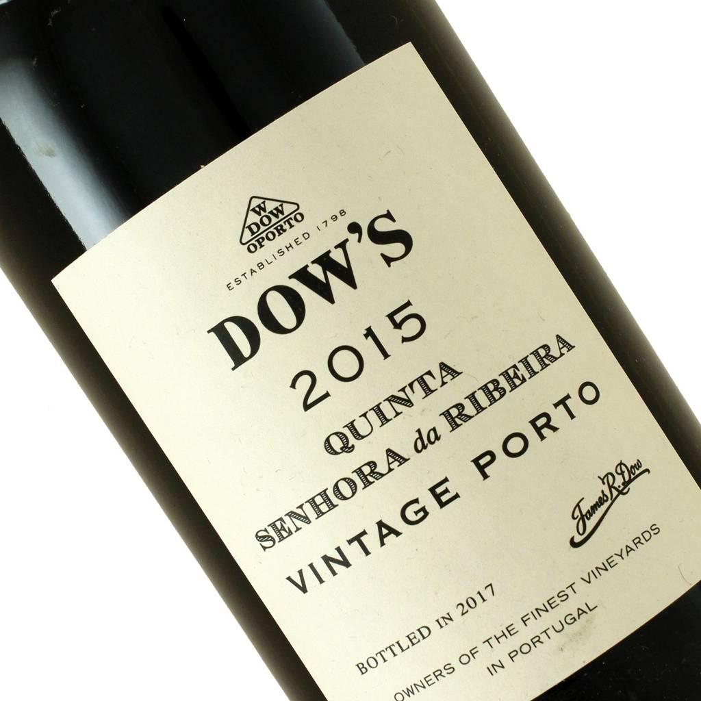 Dow's 2015 Quinta Senhora da Ribeira Vintage Porto, Portugal