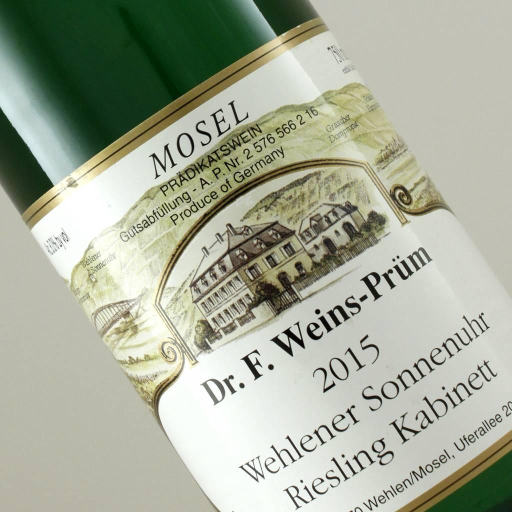 Dr. F. Weins-Prum 2015 Wehlener Sonnenuhr Reisling Kabinett, Mosel
