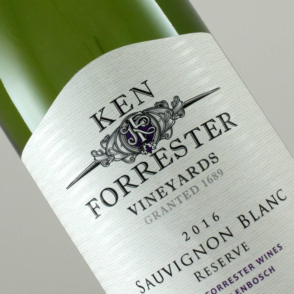 Ken Forrester 2016 Sauvignon Blanc Reserve, Stellenbosch, South Africa