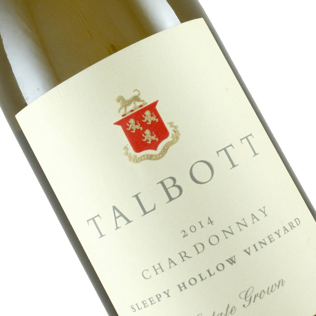 Talbott 2014 Chardonnay Sleepy Hollow Vineyard, Santa Lucia