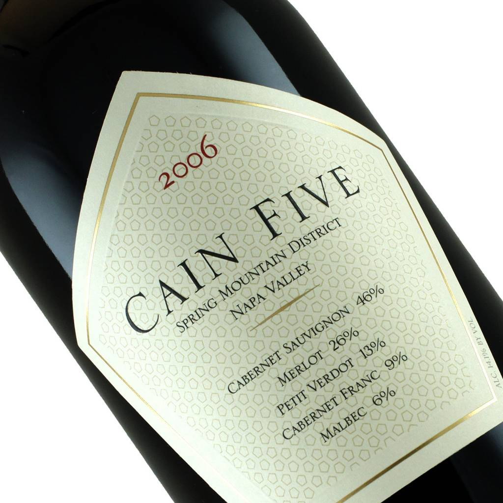 "Cain 2006 ""Five"" Spring Mountain District, Napa Valley"