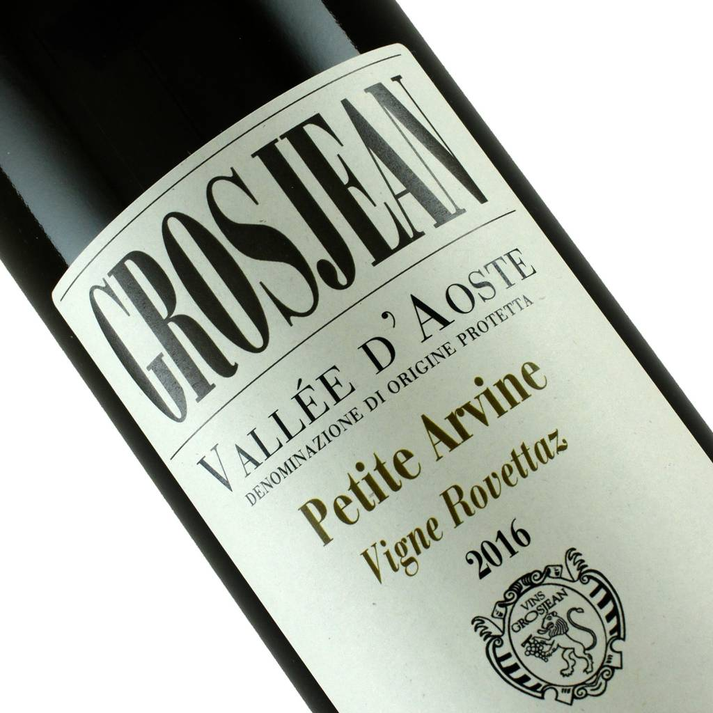 Grosjean 2016 Petite Arvine Vallee D'Aoste